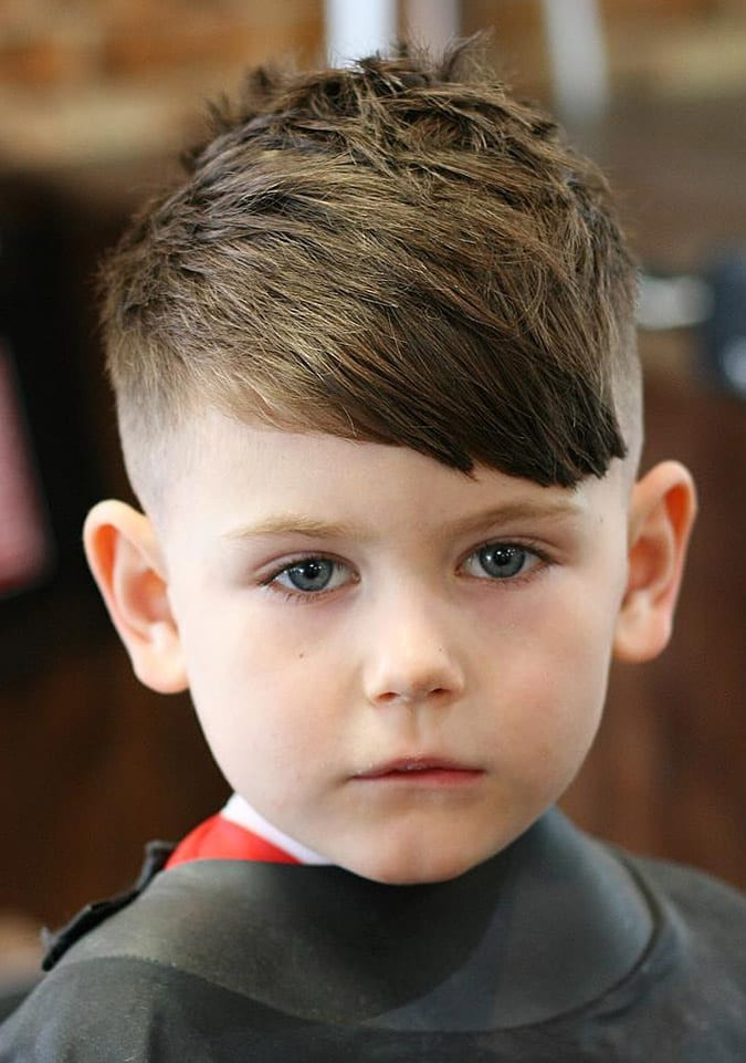 Toddler Hairstyle Boy  60 Cute Toddler Boy Haircuts Your Kids will Love