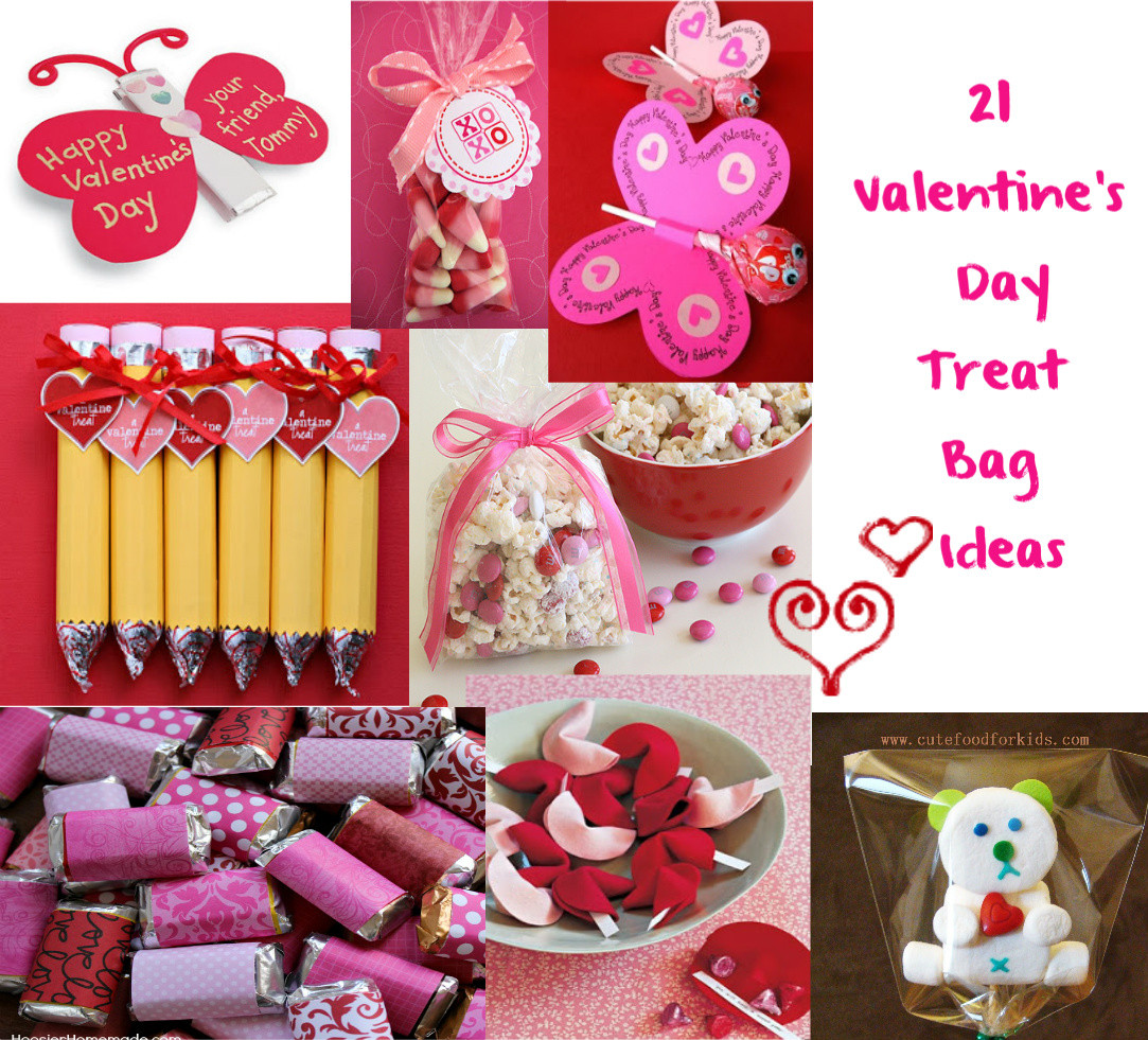 Toddler Valentines Day Gift Ideas  Cute Food For Kids Valentine s Day Treat Bag Ideas
