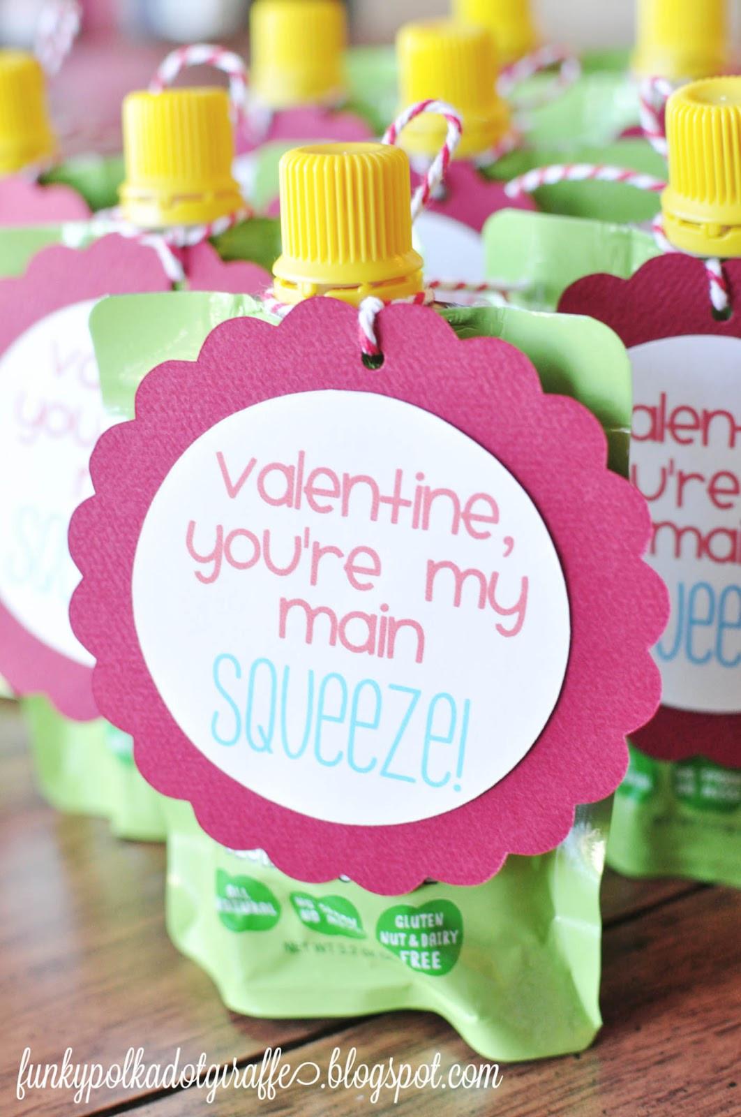 Toddler Valentines Day Gift Ideas  Funky Polkadot Giraffe Preschool Valentines You re My