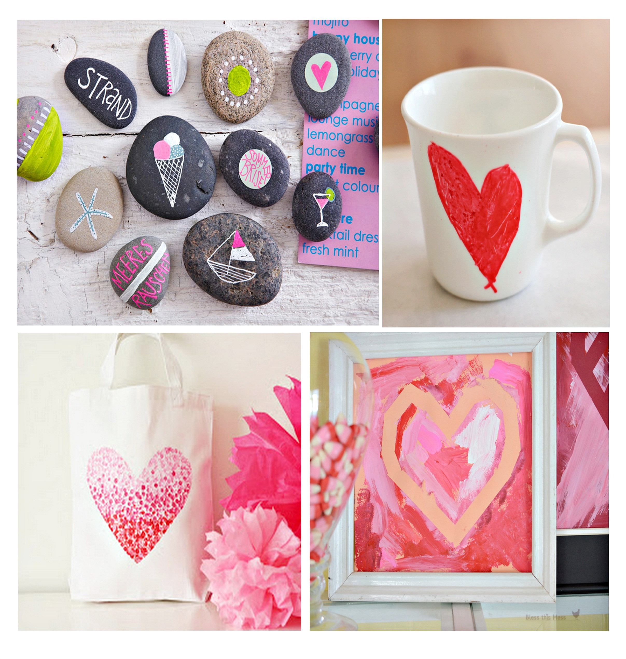Toddler Valentines Day Gift Ideas  Fun Projects for Kids to Paint and Give as Gifts Paint It