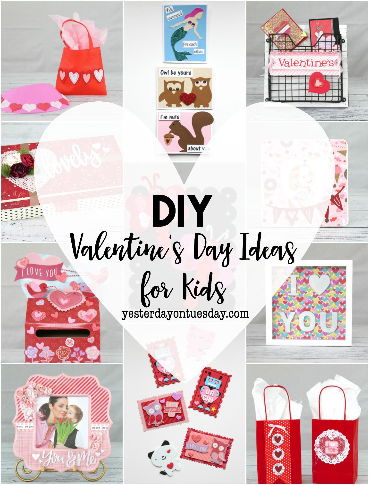 Toddler Valentines Day Gift Ideas  DIY Valentine s Day Ideas for Kids