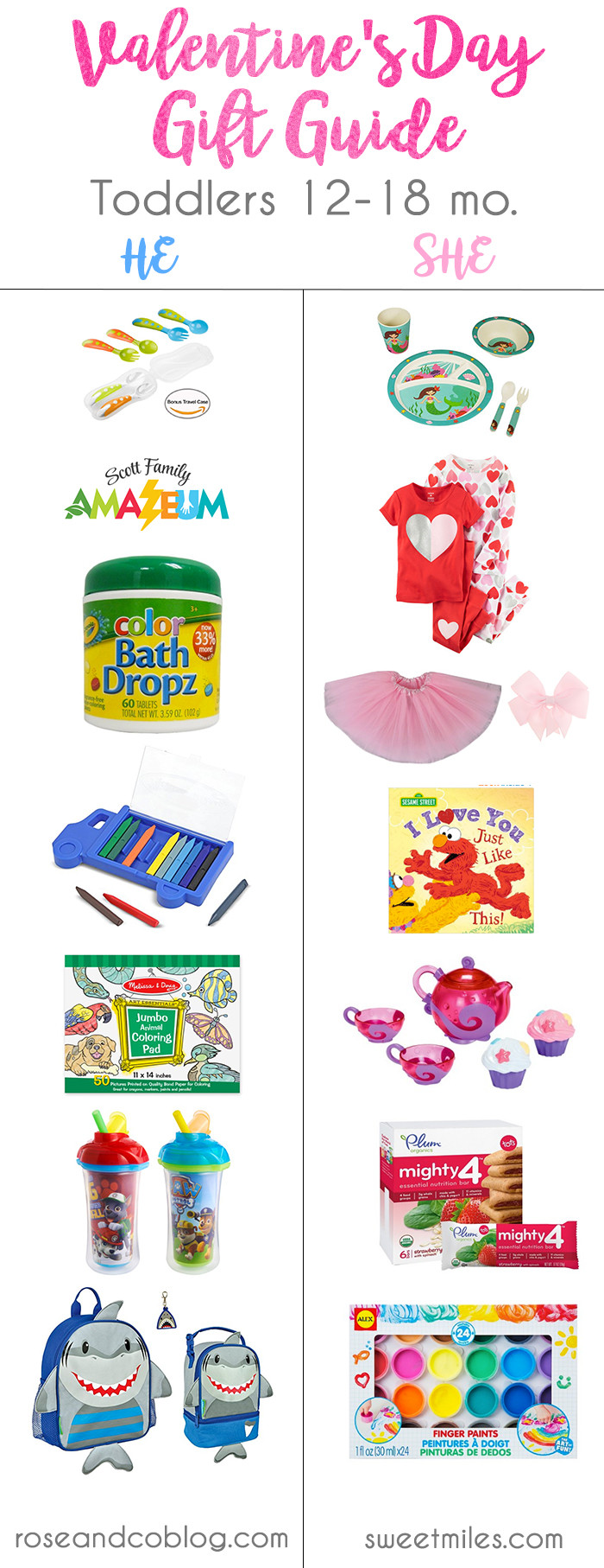 Toddler Valentines Day Gift Ideas  Valentine s Day Gift Guide for Toddlers 12 18 Months