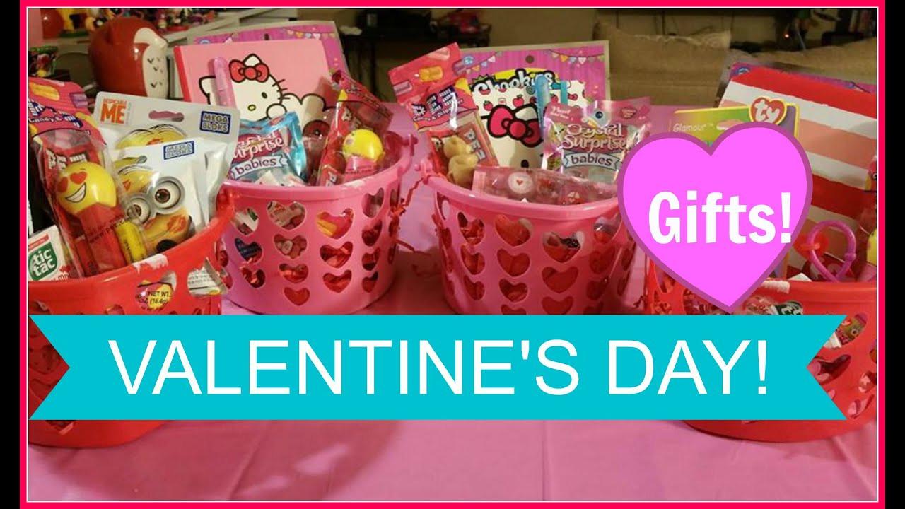 Toddler Valentines Day Gift Ideas  VALENTINE S DAY BASKET FOR KIDS Valentine s Gift Ideas