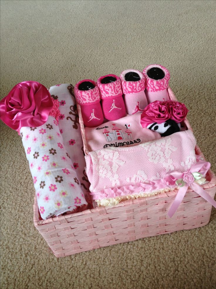 Top Baby Girl Gifts  The 25 best Baby girl t baskets ideas on Pinterest