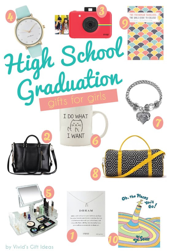 Top Graduation Gift Ideas For Senior Graduates  2016 High School Graduation Gift Ideas for Girls Vivid s