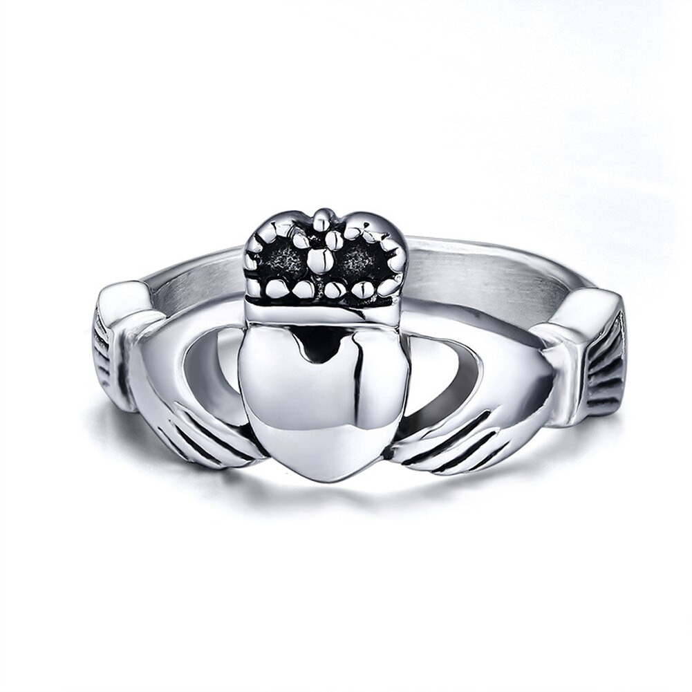 Traditional Wedding Bands  Traditional Irish Wedding Ring with My Hands Give You My