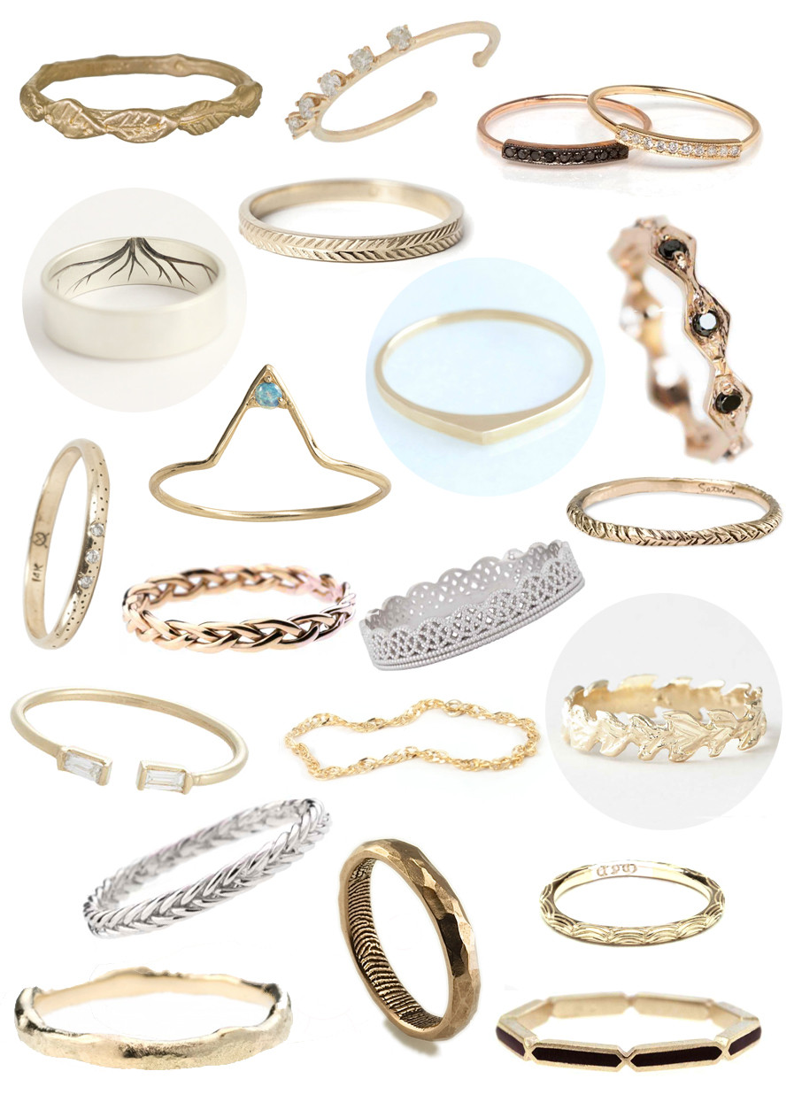 Traditional Wedding Bands  30 Non Traditional Wedding Rings Under $500