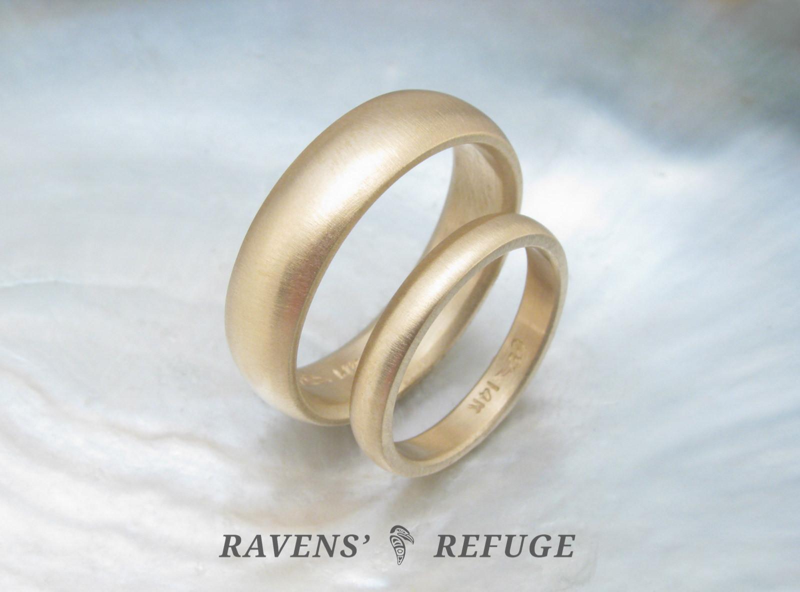 Traditional Wedding Bands  traditional wedding bands – classic wedding rings in 14k