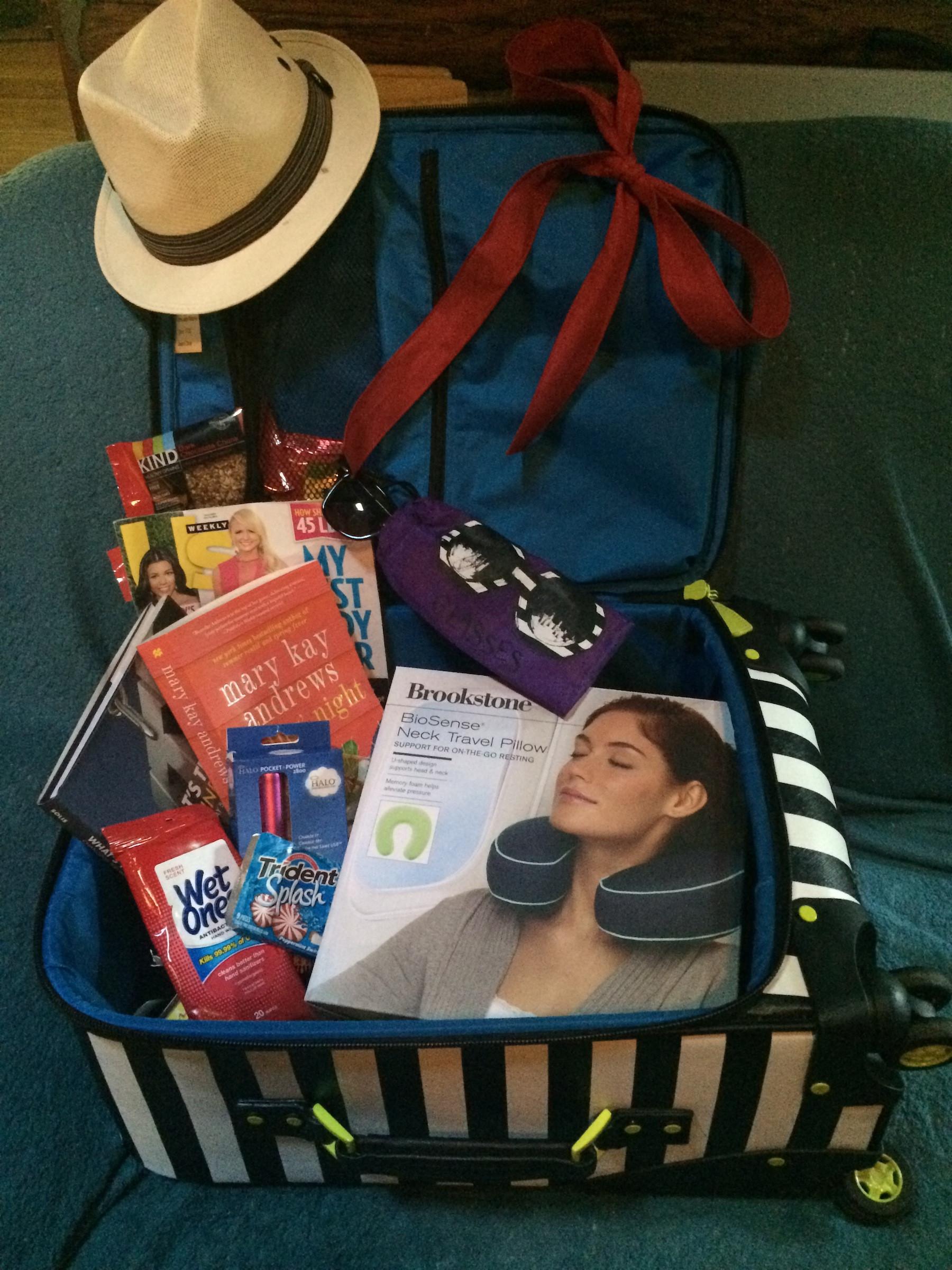 Travel Gift Basket Ideas  7 more summer t basket ideas — Ripple Street