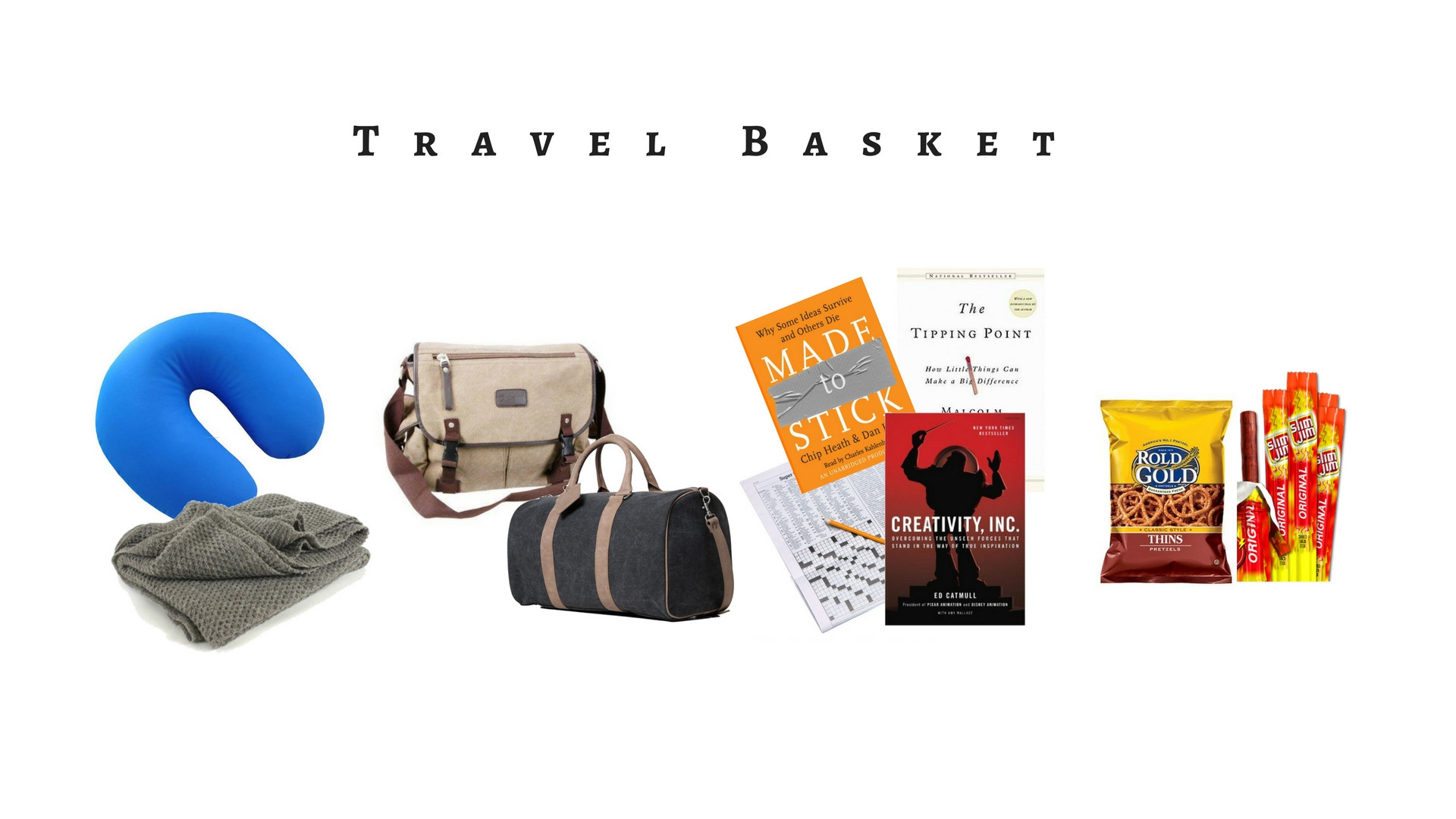 Travel Gift Basket Ideas  Boss's Day Gift Basket and Bouquet Ideas