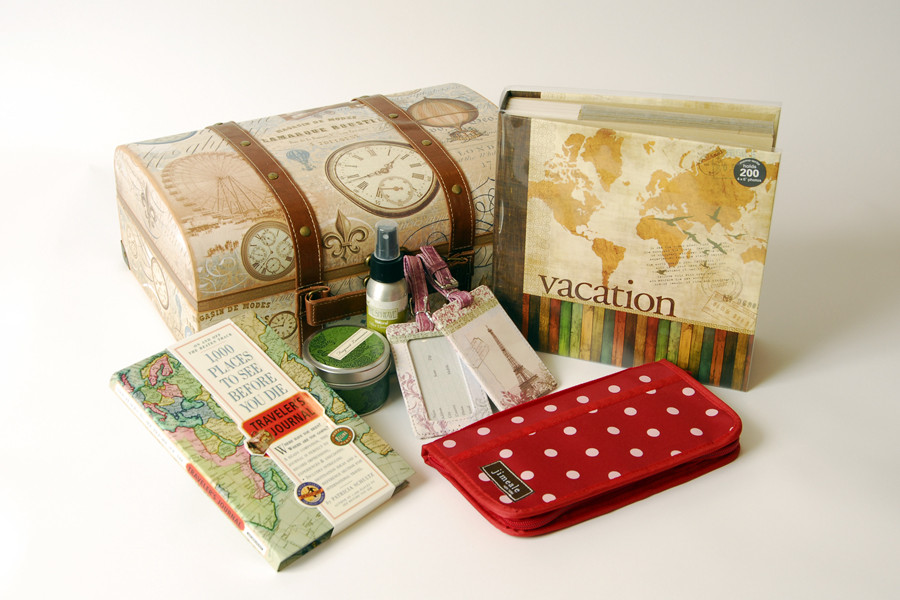Travel Gift Basket Ideas  Thoughtful Presence The World Travel Gift Basket A