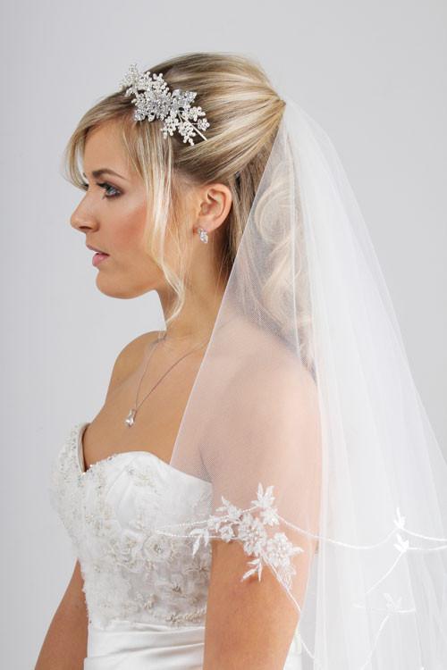 Uk Wedding Veils  Our Showcase Tiaras Headdresses and Wedding Veils