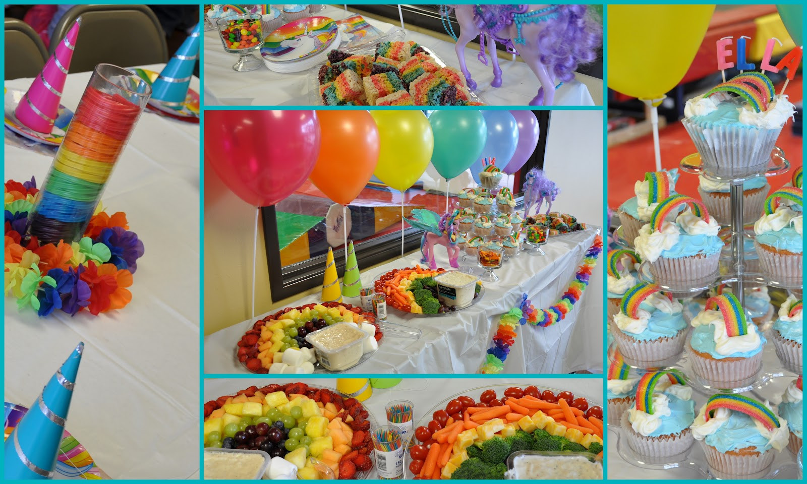 Unicorn And Rainbow Party Ideas  Clearly Candace Ninjas Unicorns and Rainbows Oh My