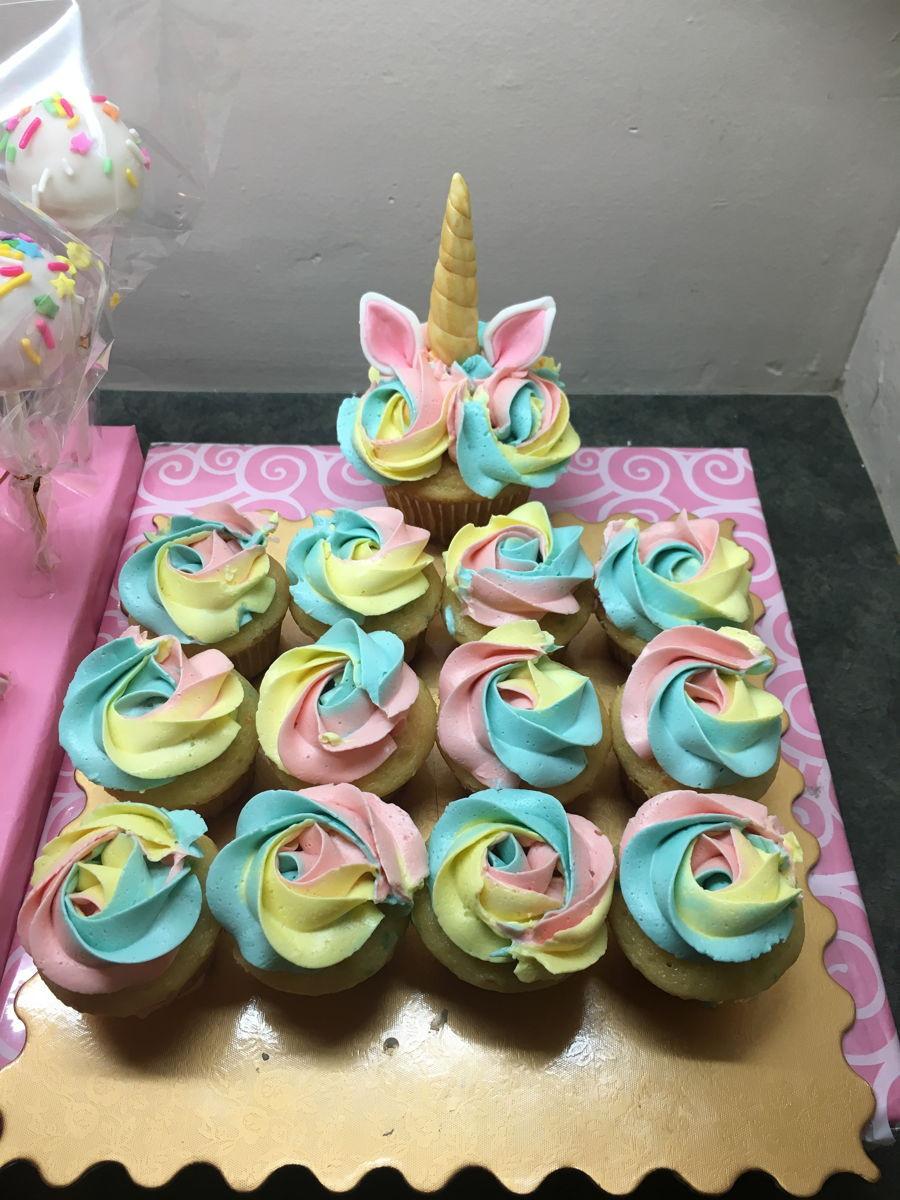 Unicorn And Rainbow Party Ideas  Magical Rainbow Unicorn Party Theme CakeCentral