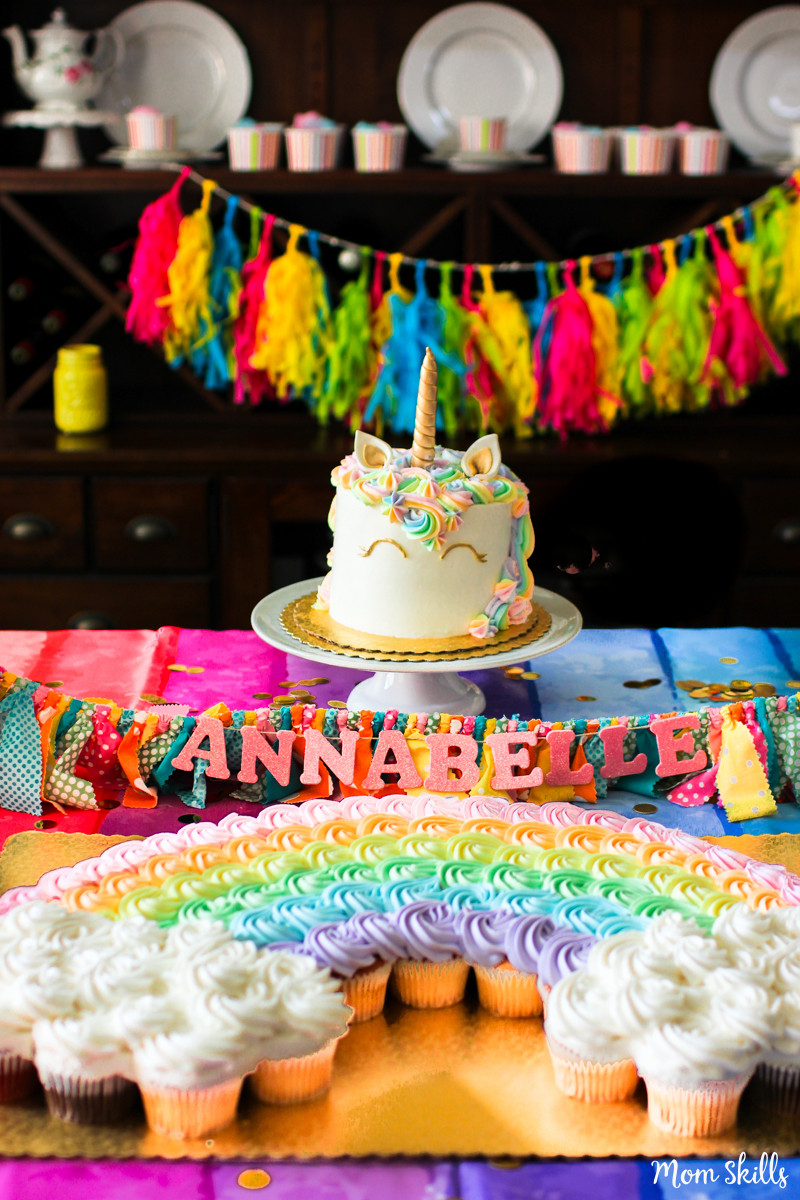 Unicorn And Rainbow Party Ideas  Unicorn Party Ideas Rainbows Galore and More