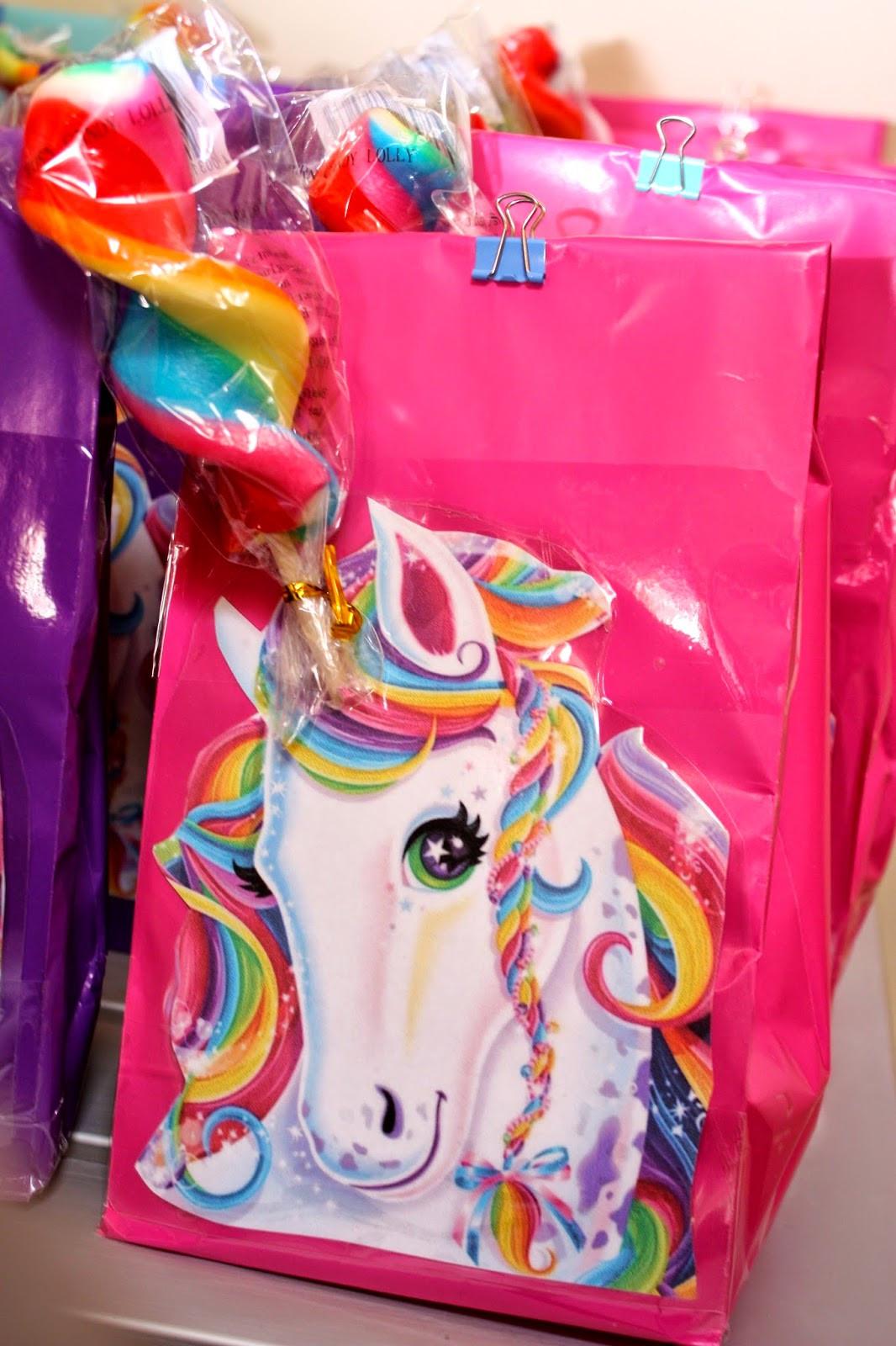 Unicorn And Rainbow Party Ideas  MangoStix Katie s Rainbow Unicorn Party