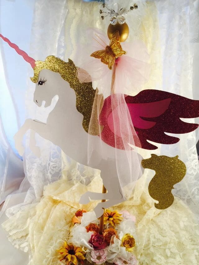 Unicorn Party Centerpiece Ideas  Unicorn Centerpiece Unicorn Birthday Unicorn Party