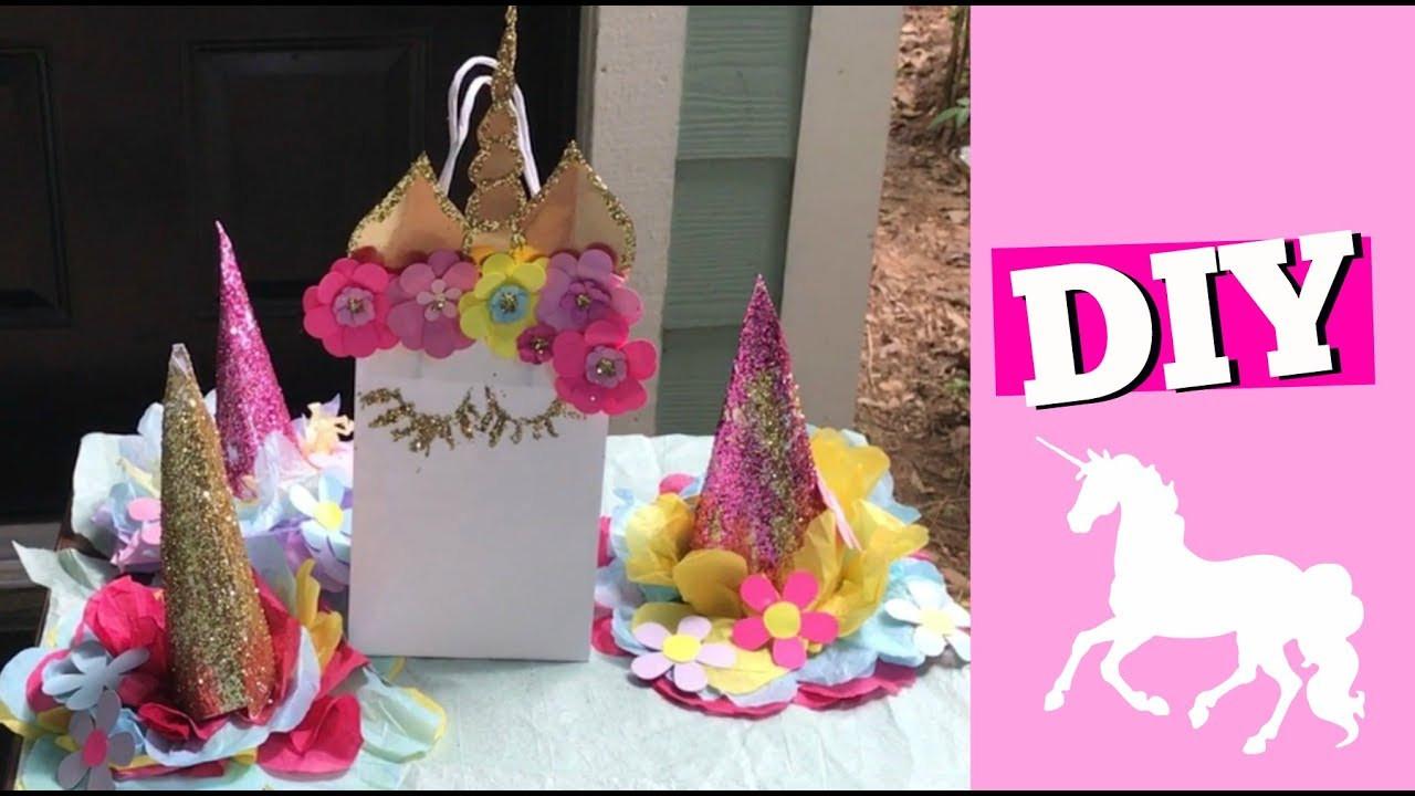 Unicorn Party Centerpiece Ideas  DIY Unicorn 🦄 Centerpieces Birthday Party Decor