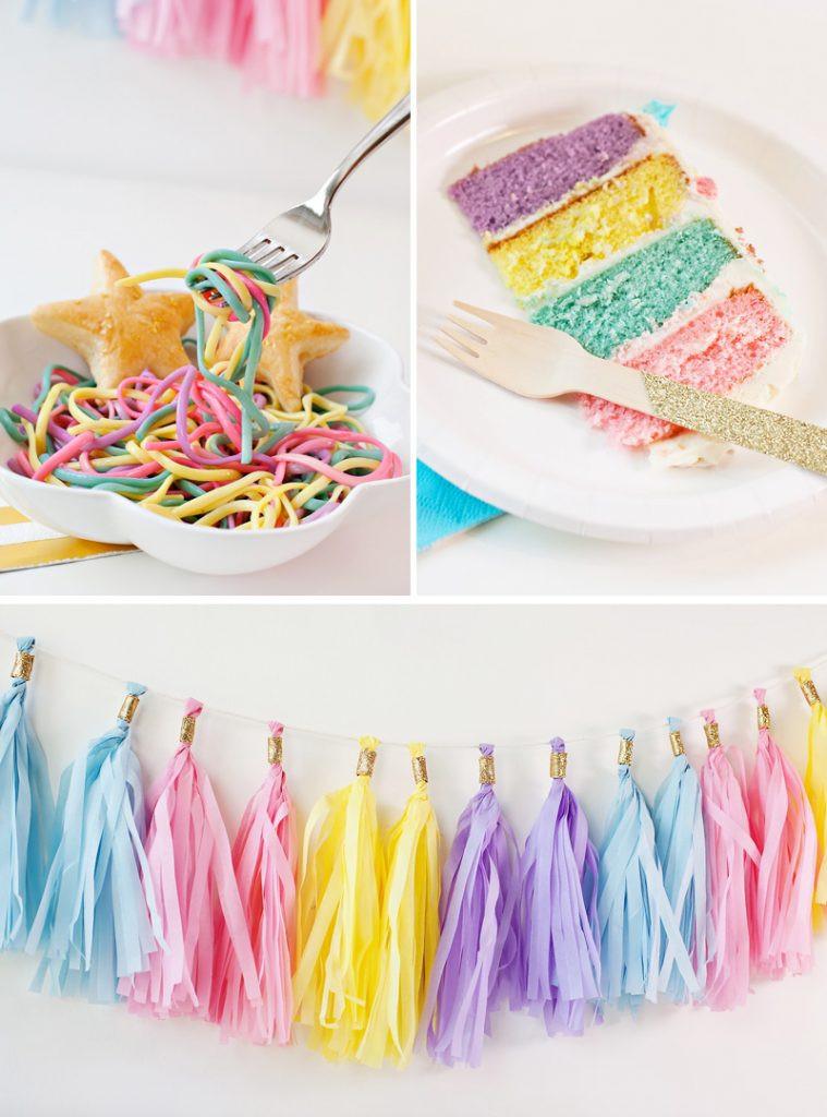 Unicorn Party Centerpiece Ideas  Simple & Sweet Unicorn Birthday Party Ideas Hostess