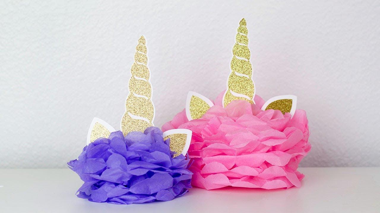 Unicorn Party Centerpiece Ideas  DIY UNICORN CENTERPIECE FOR UNICORN PARTY