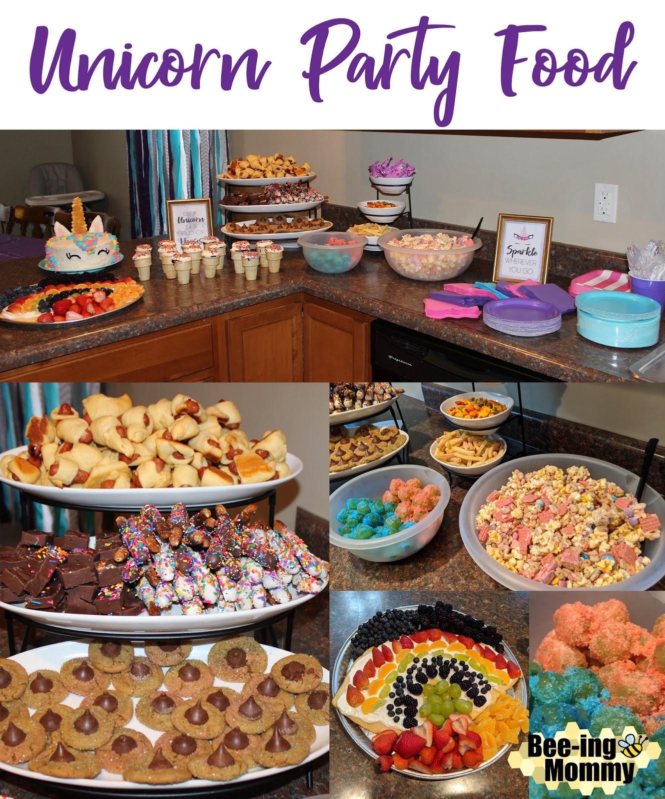 Unicorn Party Theme Food Ideas  Magical Unicorn Birthday Party