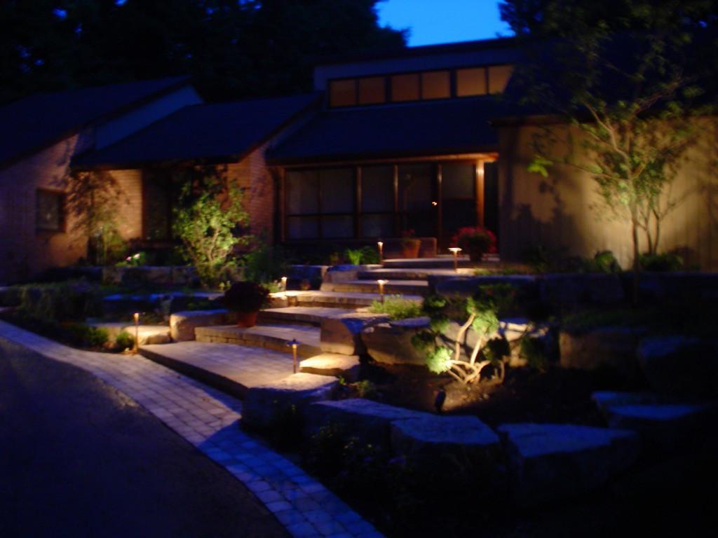 Unique Landscape Lighting  Best Patio Garden and Landscape Lighting Ideas for 2014