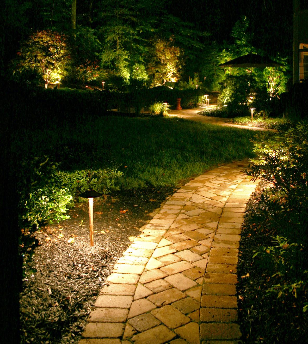 Unique Landscape Lighting  Unique Landscape Illumination 3 Landscape Lighting Path