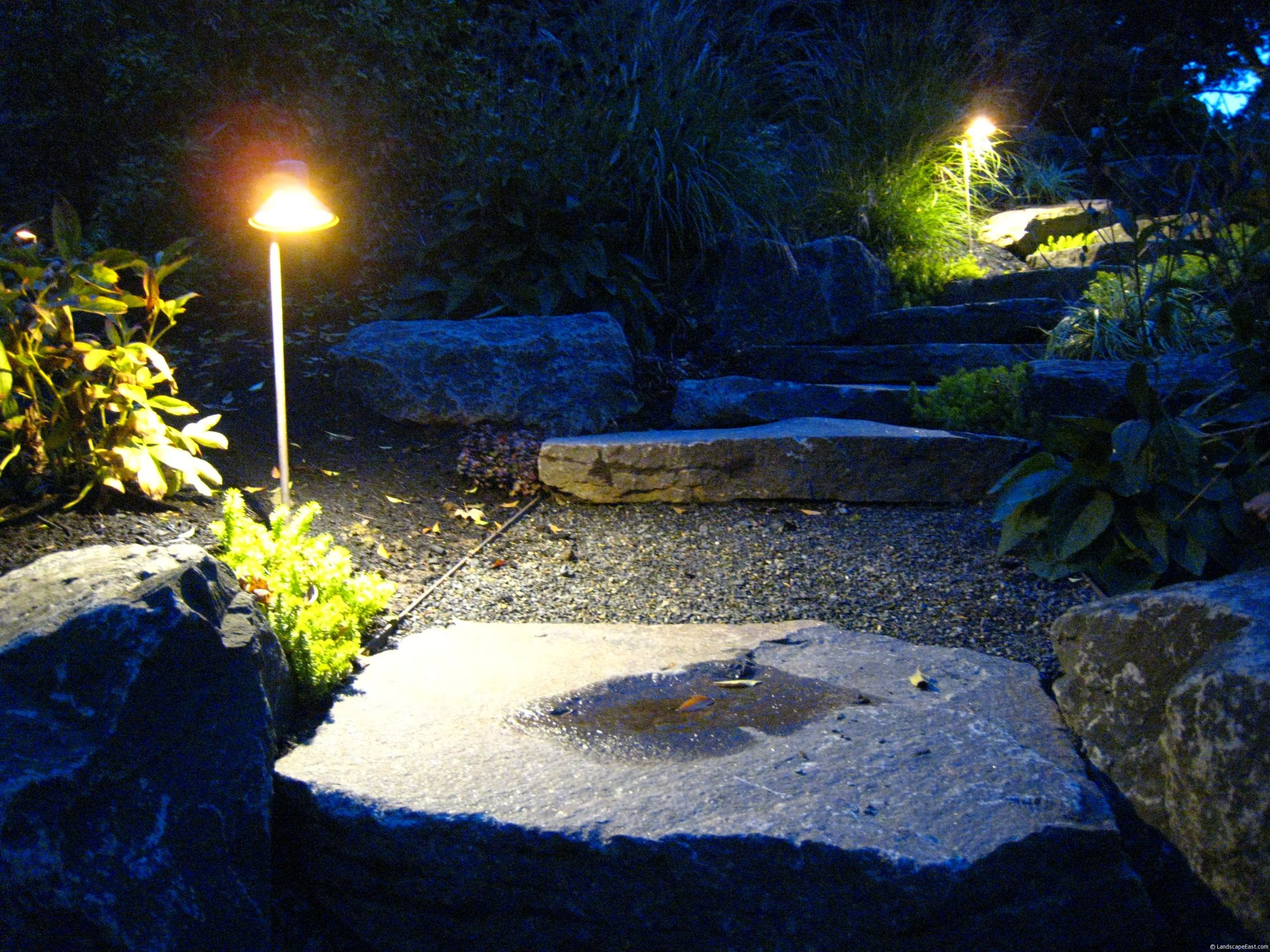 Unique Landscape Lighting  Portland Landscapers fer Unique Lighting Ideas for