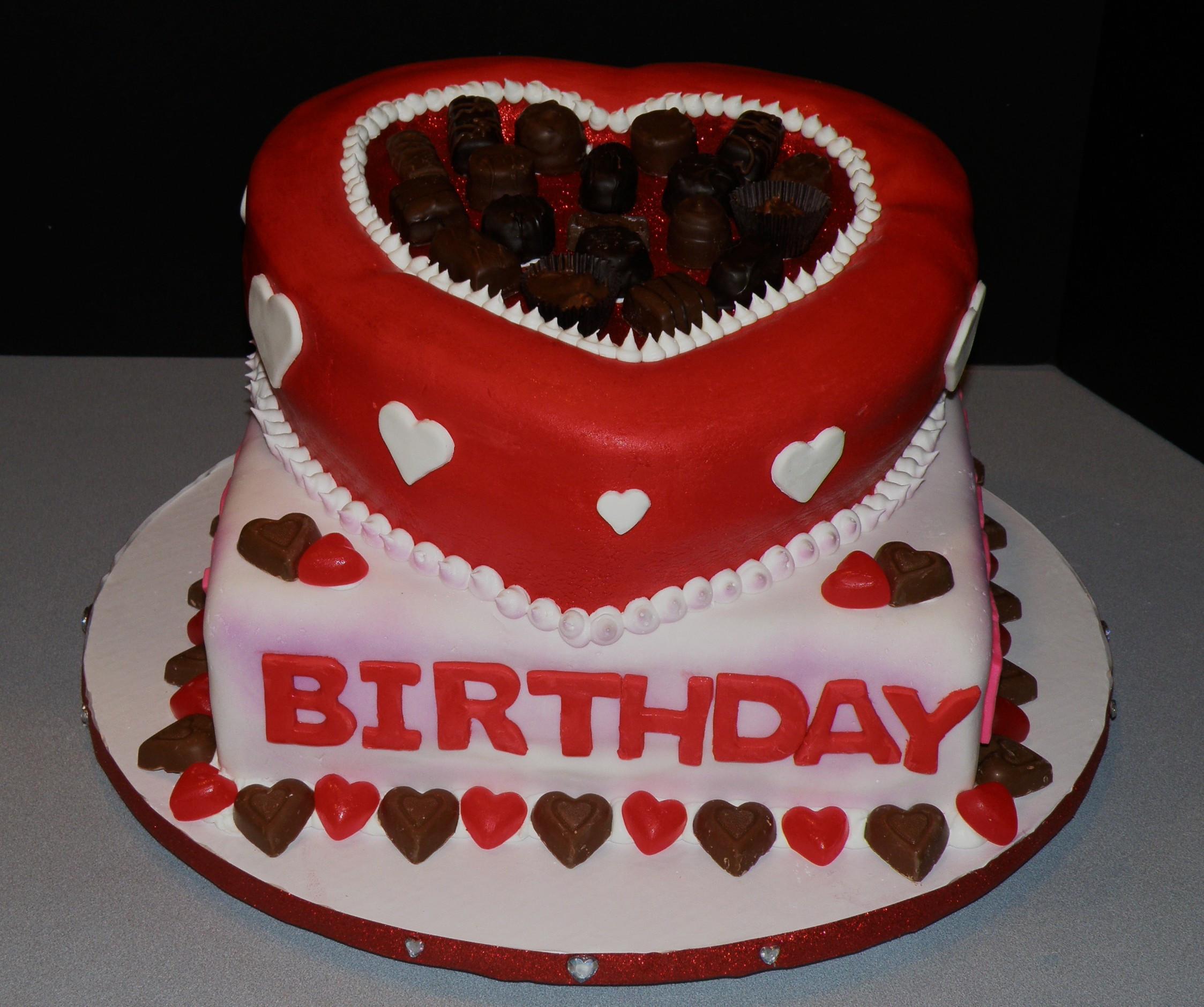 Valentine Birthday Cake  happy birthday valentine