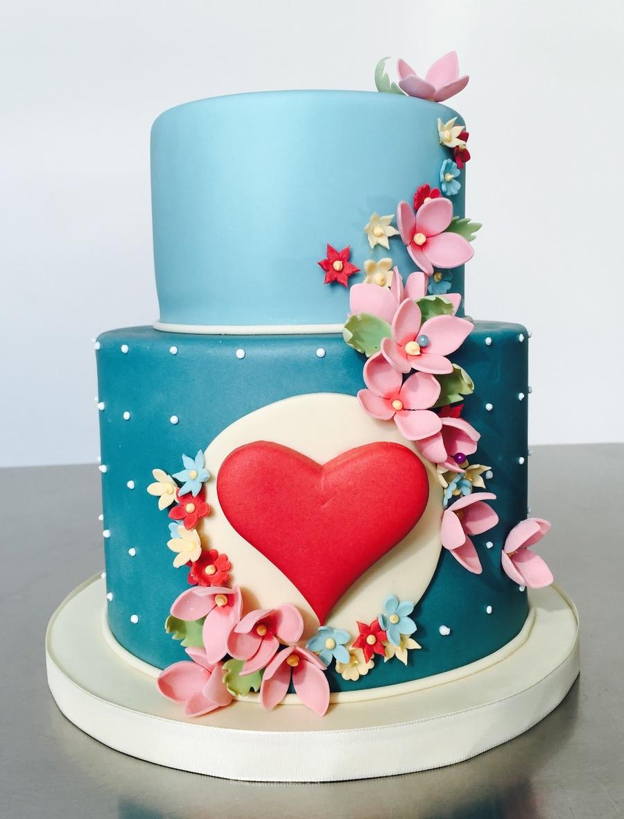 Valentine Birthday Cake  Happy Valentines CakeCentral