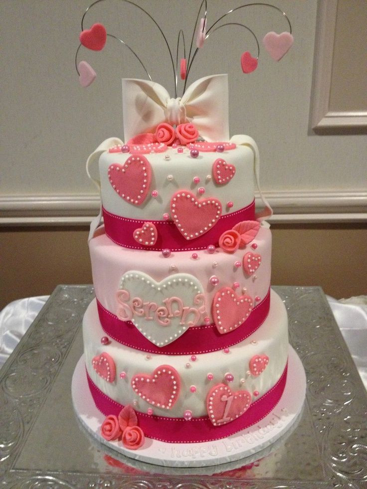 Valentine Birthday Cake  18 best images about cakes on Pinterest