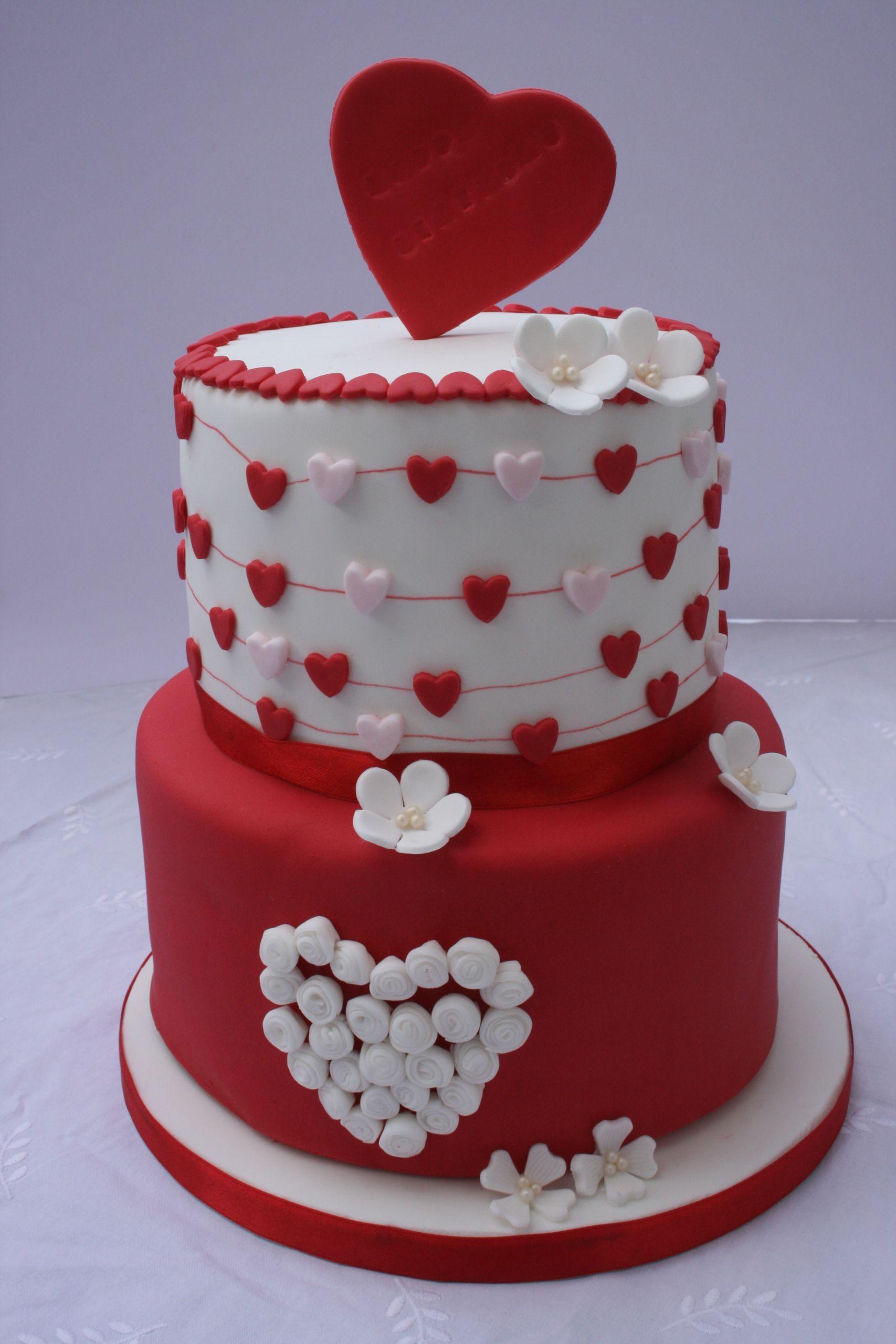 Valentine Birthday Cake  Valentine s Birthday Cake CakeCentral