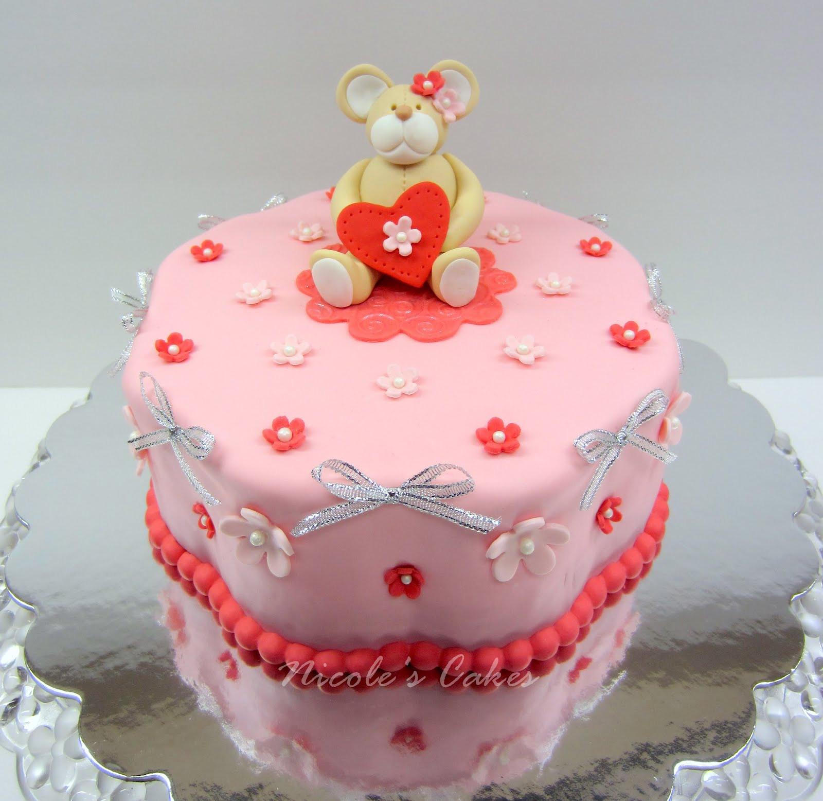 Valentine Birthday Cake  Confections Cakes & Creations A Valentine s Birthday Cake