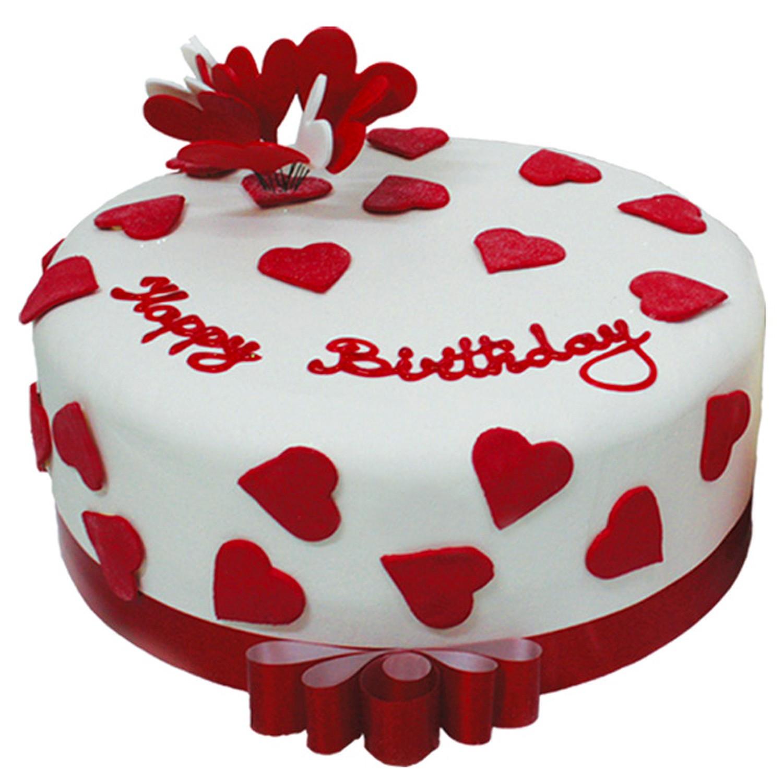 Valentine Birthday Cake  Let Them Eat Cake