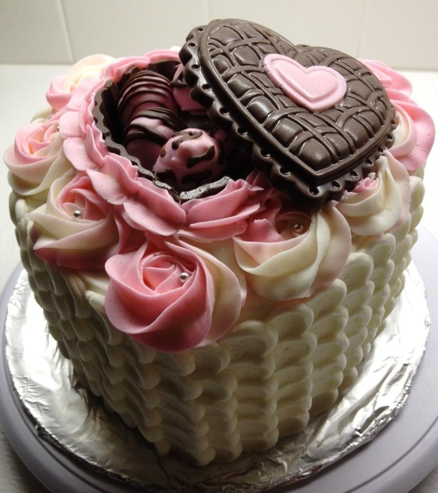 Valentine Birthday Cake  Valentines birthday Cake CakeCentral