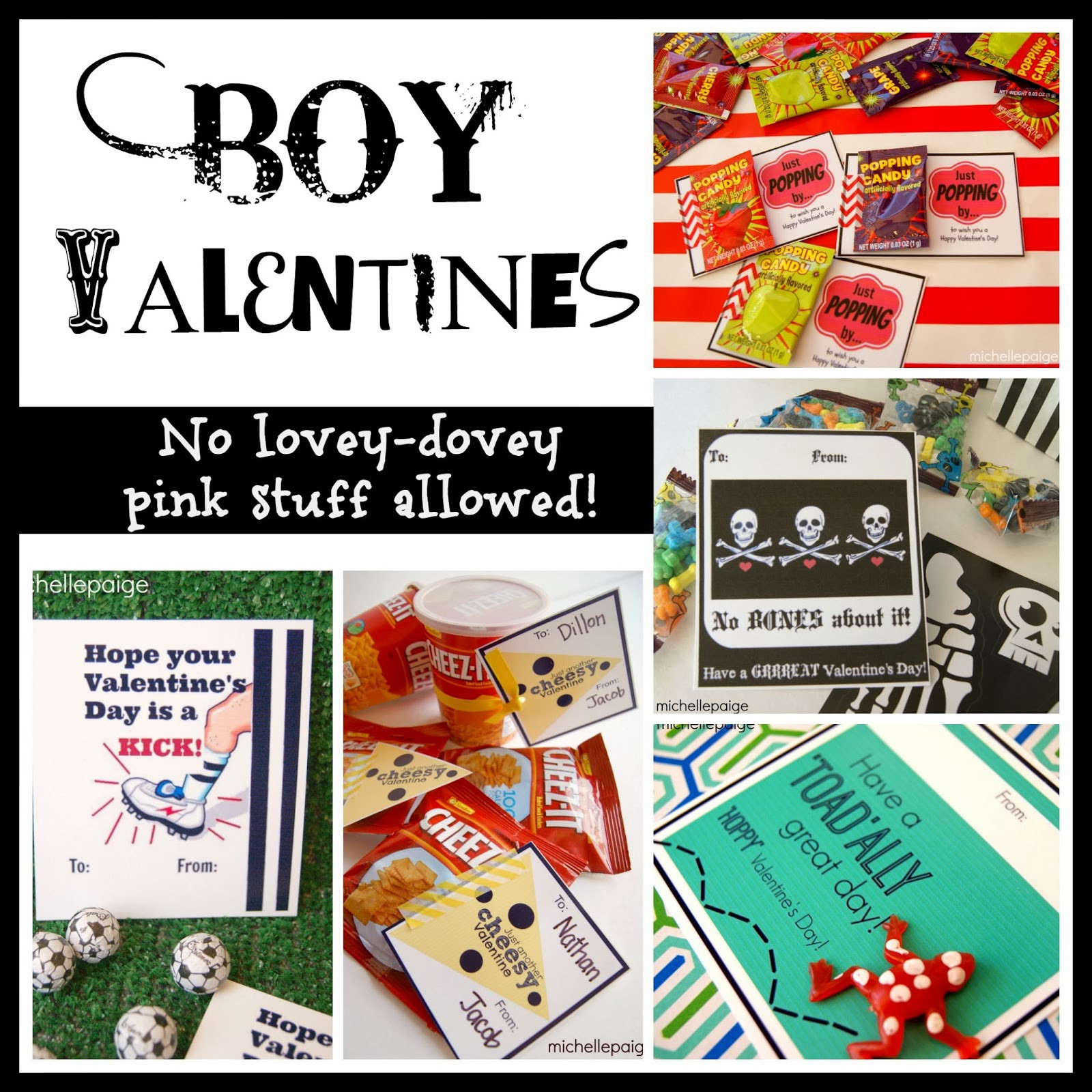 Valentine Gift Ideas For Boys  michelle paige blogs Reese s Peanut Butter Cups