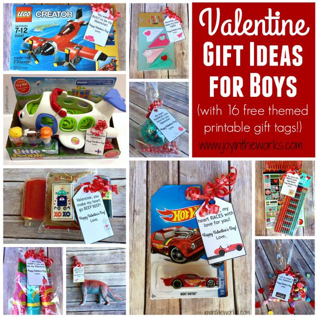 Valentine Gift Ideas For Boys  Simple Valentine Gift Ideas for Boys Joy in the Works