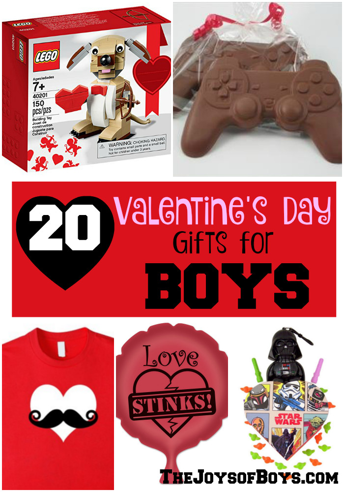 Valentine Gift Ideas For Boys  20 Valentine s Day Gifts for Boys The Joys of Boys