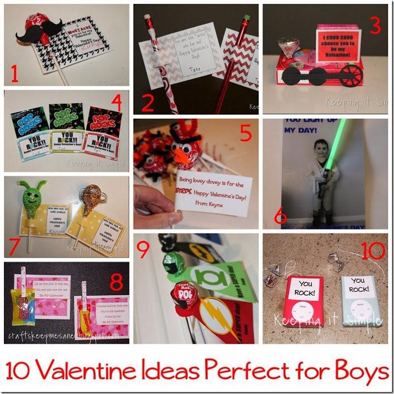 Valentine Gift Ideas For Boys  10 handmade Valentine Ideas for boys