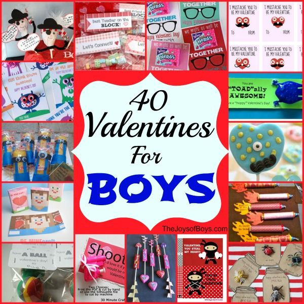 Valentine Gift Ideas For Boys  17 Best images about Valentines Day Cards & Exchange Ideas