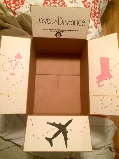 Valentine Gift Ideas For Long Distance Relationships  Pin by Sarah Kline on care package ideas for boyfriend