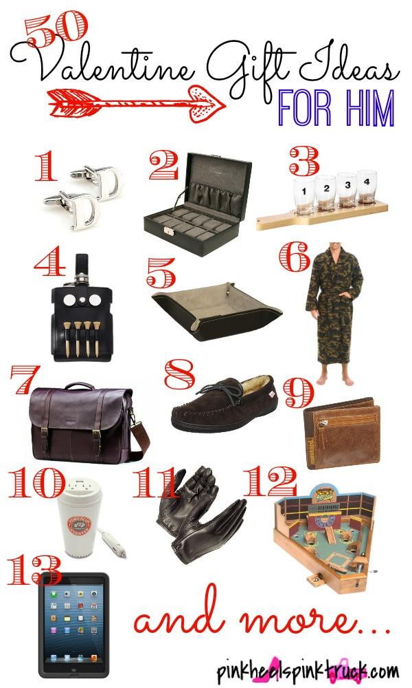 Valentine Gift Ideas For Men  50 Valentine Gift Ideas for Him • Taylor Bradford
