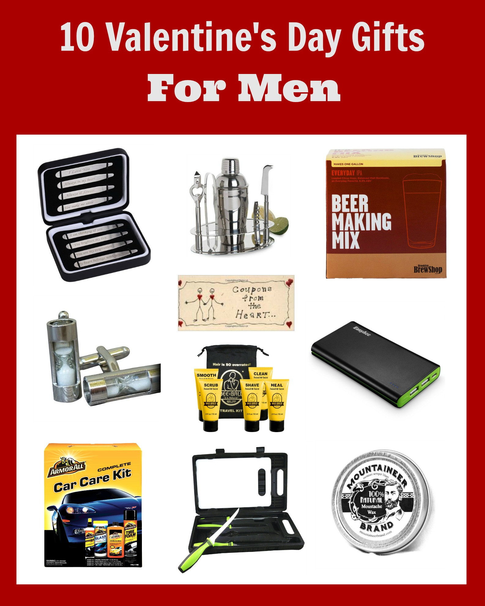 Valentine Gift Ideas For Men  Valentine Gifts for Men Ideas They Will Love