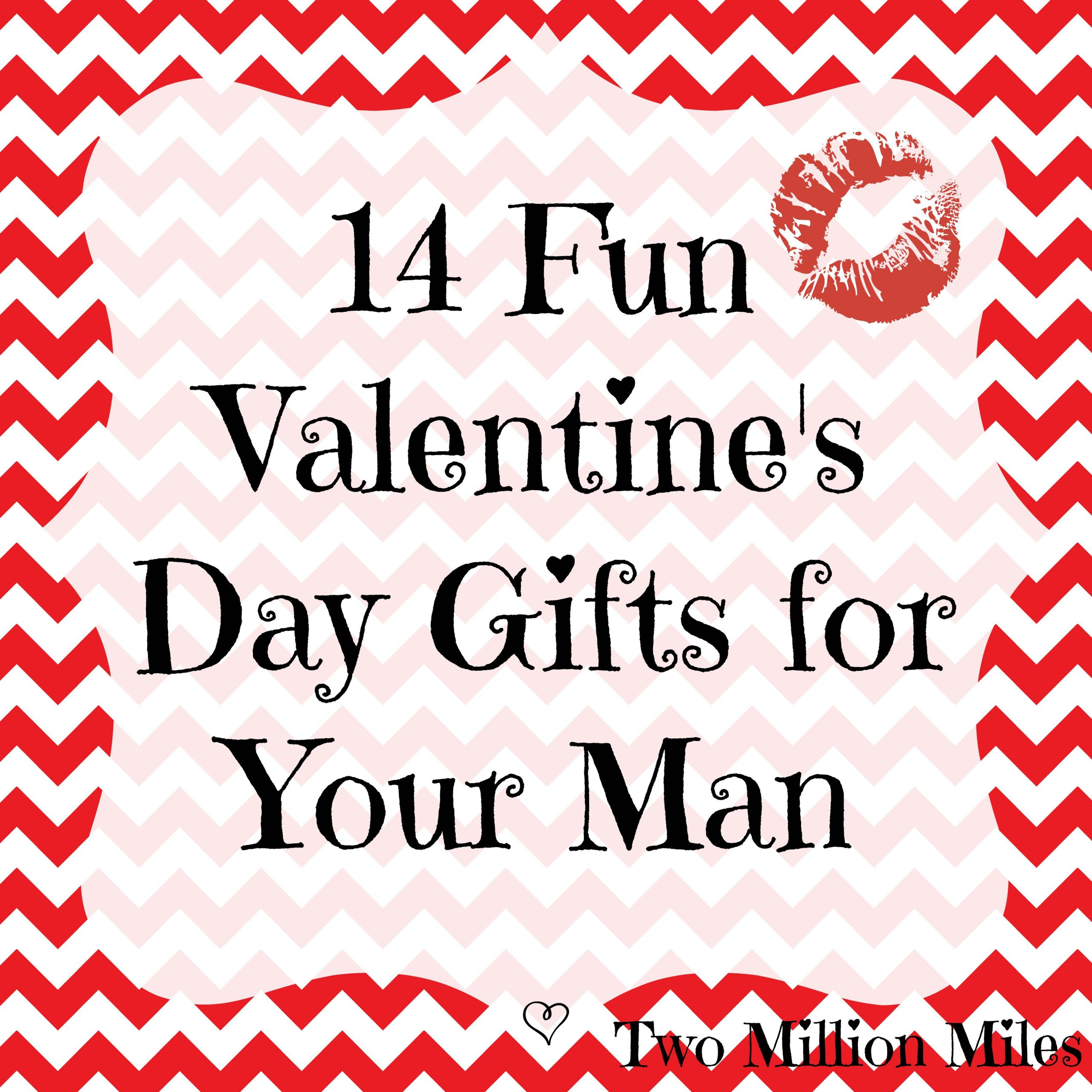 Valentine Gift Ideas For Men  14 Valentine's Day Gifts for Your Man
