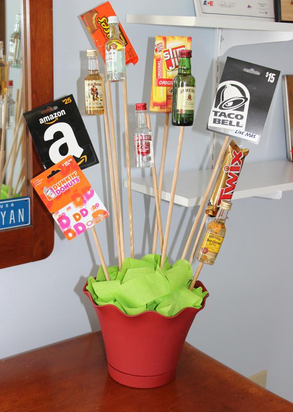 Valentine Gift Ideas For Men  DIY Valentine s Day Gift A Man Bouquet