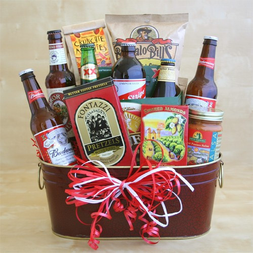 Valentine Gift Ideas For Men  Men Valentine Gift Baskets for Him Valentine Gift Ideas