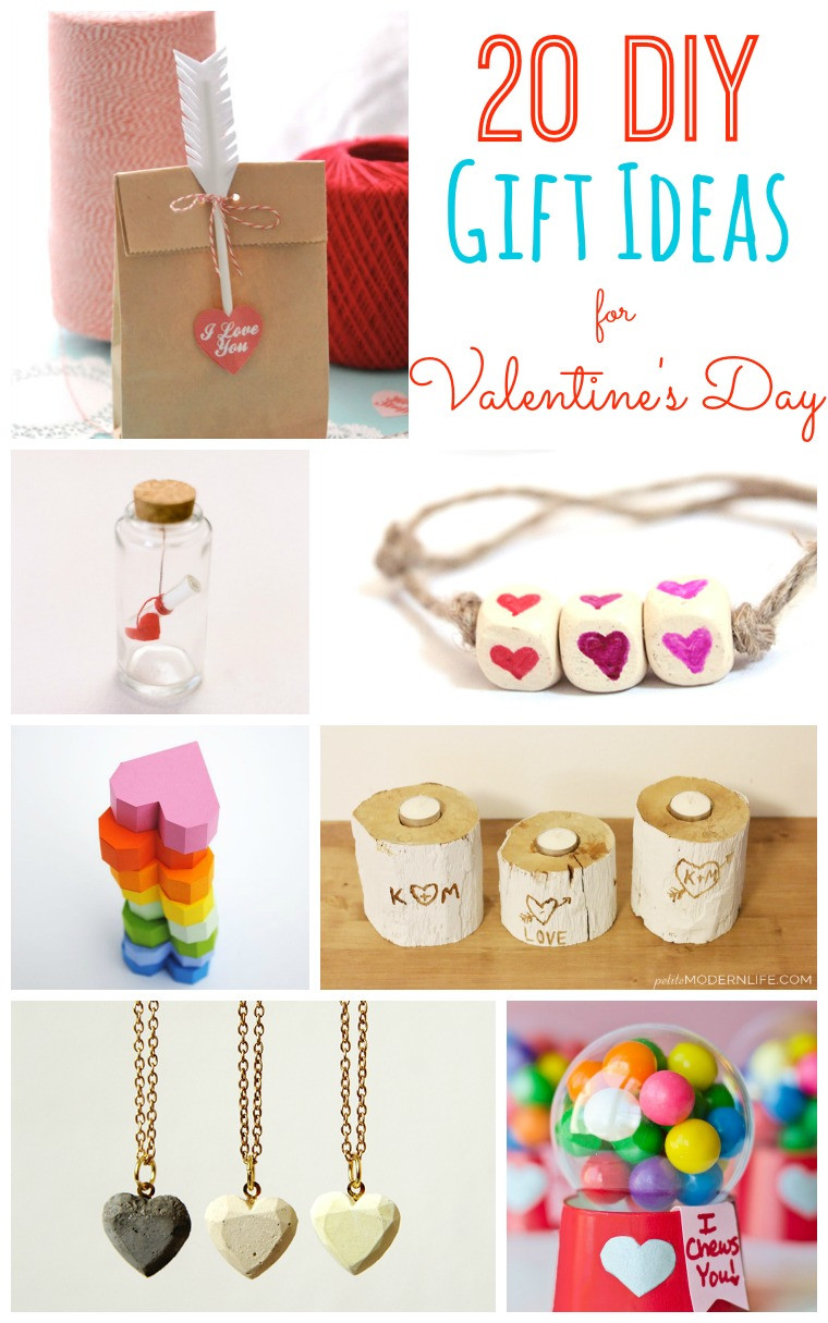 Valentine'S Day Gift Ideas  20 DIY Valentine s Day Gift Ideas Tatertots and Jello