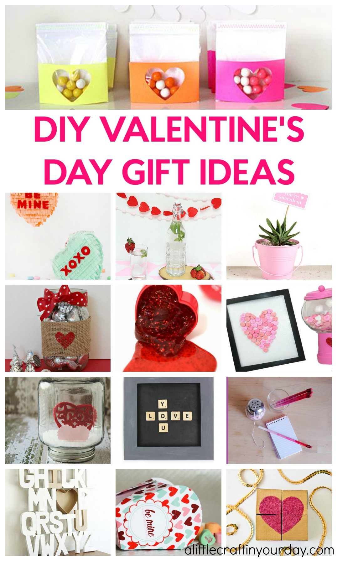 Valentine'S Day Gift Ideas  DIY Valentines Day Gift Ideas A Little Craft In Your Day