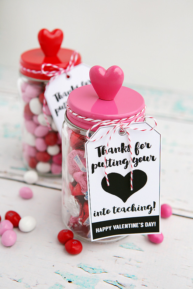 Valentine'S Day Gift Ideas  Thanks For Putting Your Heart Into Teaching Eighteen25