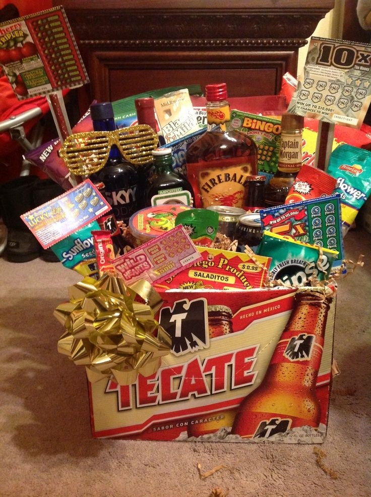 Valentines Gift For Guys Ideas  1000 images about men s t baskets on Pinterest